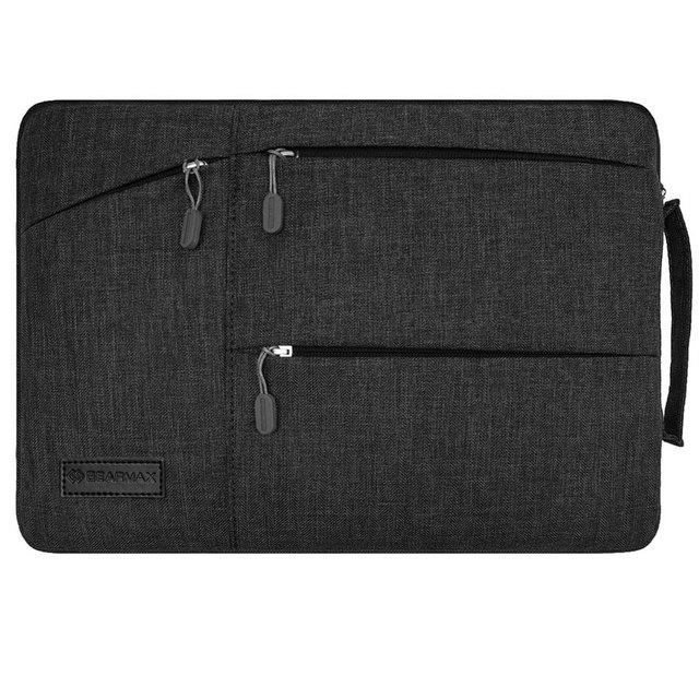 Gearmax laptop à prova d' água caso saco para macbook pro 13 air 13 Saco de Manga Bolso de Retina 14 Nylon À Prova de Choque Laptop Sleeve 13.3 15