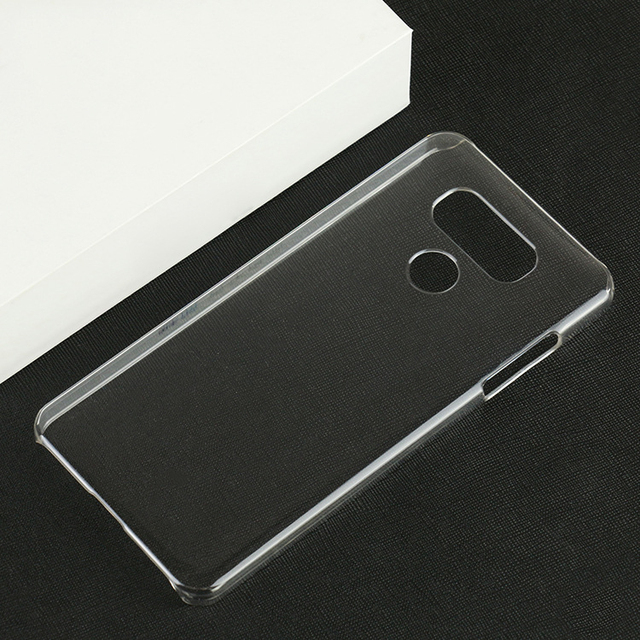 the best attitude 3068d 21a22 US $7.98 5% OFF|G6 case For LG G6 Clear Transparent phone case LGG6 Crystal  clear beauty hard shell 5.7 inch-in Half-wrapped Case from Cellphones & ...