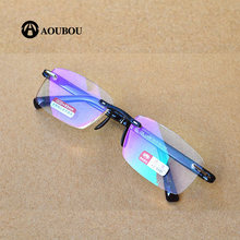 Очки для чтения без оправы с защитой от сисветильник света +