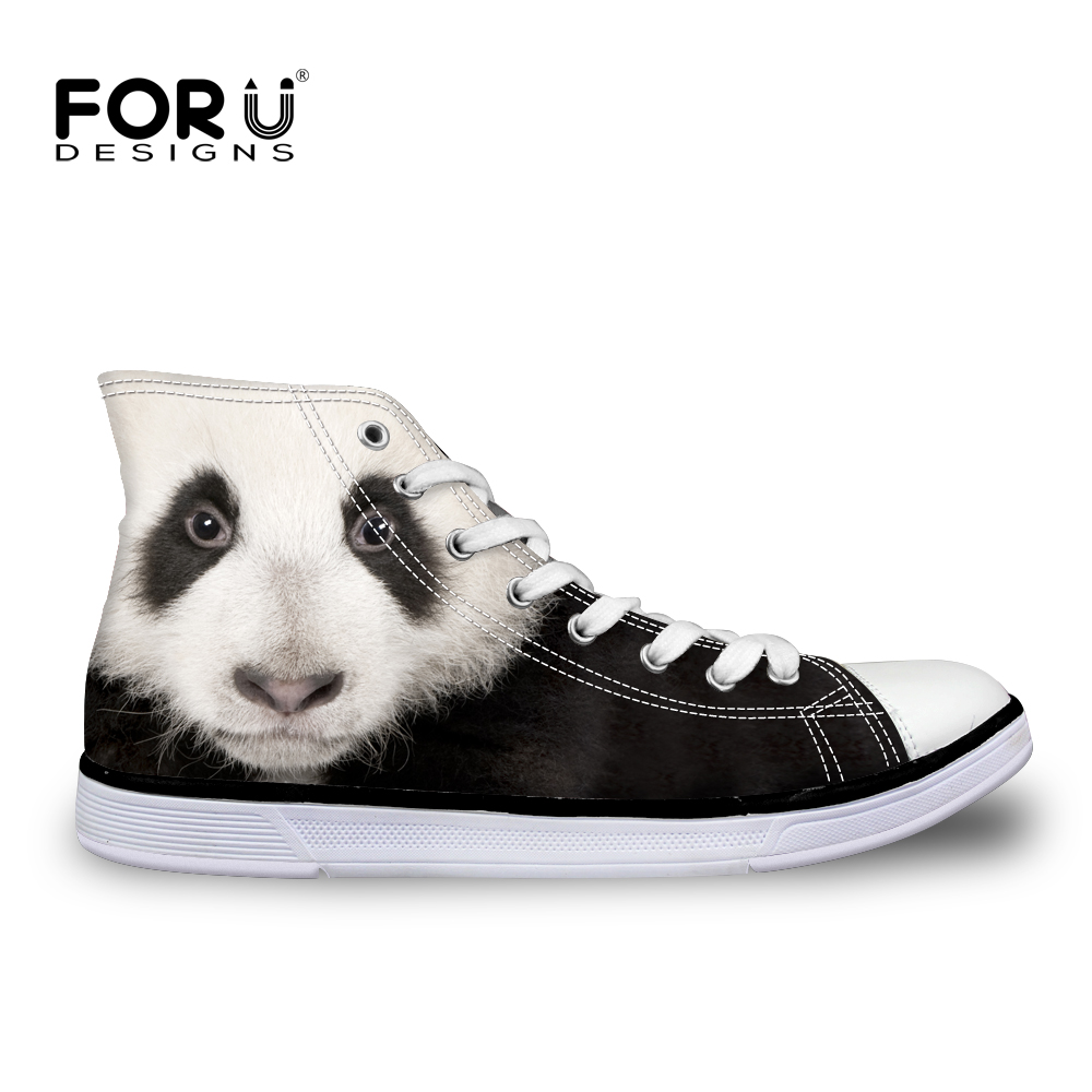 ФОТО Summer Men Casual Shoes Peacock Panda Tiger Lion Shark Head High Canvas Shoes Breathable Outdoor Travel Shoes Mujer Zapatillas