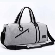 Men Multifunction Travel Bag Large Capacity Luggage & Travel Bags 2019 Male Black Gray Backpack Casual Duffle Bag Multi Pockets military travel bag 35l large capacity luggage travel duffle bags multi function men travel backpack