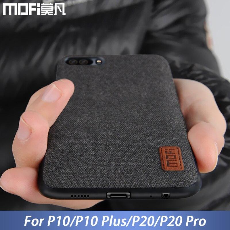 Für Huawei P20 Pro fall P10 Plus zurück abdeckung stoff business männer vintage capas fall MOFi original für Huawei P20 und P10 fall