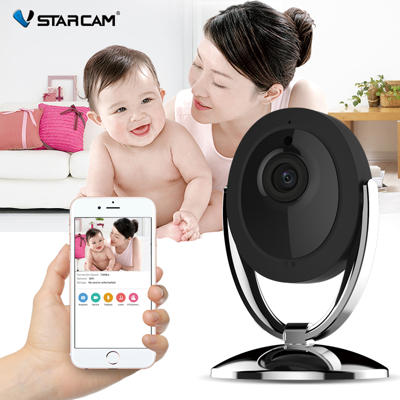 VStarcam HD WIFI IP Camera 720P Night Vision 2-Way Audio Wireless Motion Alarm Mini Smart Home Webcam Video Baby Monitor baby monitor camera wireless wifi ip camera 720p hd app remote control smart home alarm systems security 1mp webcam yoosee app