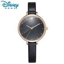 c48ba3e3826 Disney Mickey Mouse Senhoras Da Forma do Relógio Das Mulheres Relógios 2018  Pulseira De Couro Top