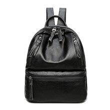 2017 натуральная кожа женщин рюкзак дамы сумки женские школьные Рюкзаки для девочек-подростков путешествия винтажные классические C253