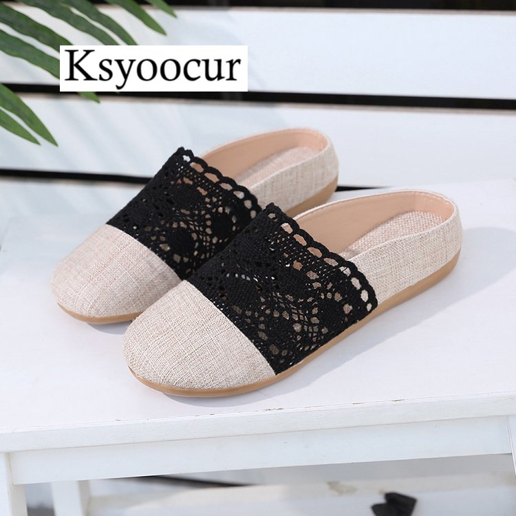 Brand Ksyoocur 2020 New Ladies Slippers Shoes Casual Women Shoes Comfortable Spring/autumn/summer Women Slippers Shoes X02 3