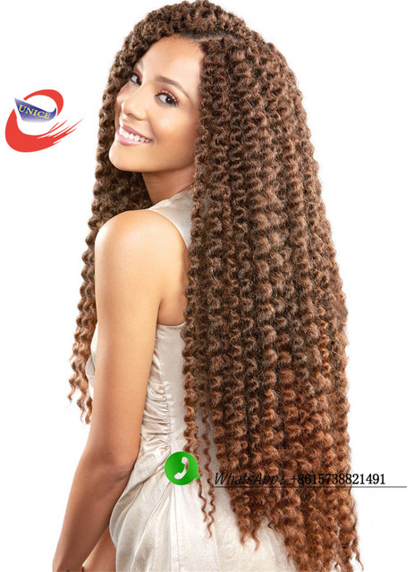 Crochet Hair Pieces : Braiding Hair crochet braid hair Curly Crochet Braids Hair Extensions ...