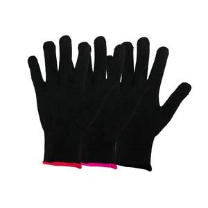 Image 2 - Gant de protection thermique, 1 pièce, pour boucler les cheveux, Salon de coiffure, accessoire de coiffeur, soin de la peau, gants résistants à la chaleur