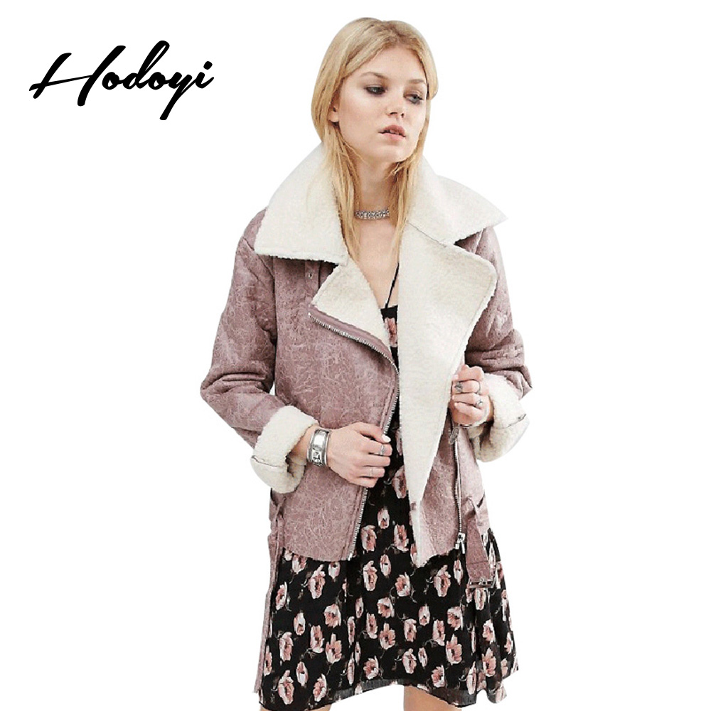 Aliexpress.com : Buy Hodoyi Women Coat Winter Warm Streetwear ...