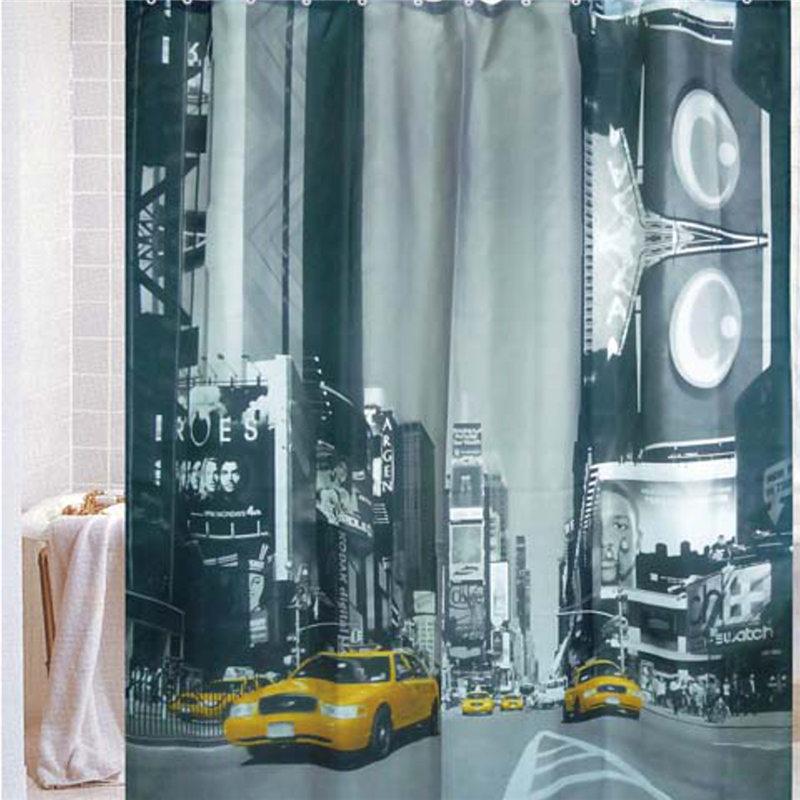 venta caliente til x cm york taxi telas peva impermeable bao cortinas de ducha con