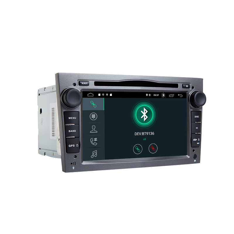 2 Din Android 9.0 voiture multimédia pour Opel Vauxhall Astra H G J vivaro Vectra C Antara Zafira B Corsa DMeriva Veda GPS Navigation