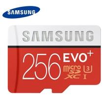 SAMSUNG U3 Micro SD Tarjeta de Memoria de 256 GB SDXC TF 95 M Grado EVO + MicroSD Clase 10 C10 UHS-I TF Trans Flash para Smartphone 256 GB 100%