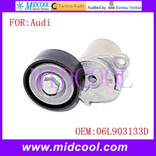 New Belt Tensioner Idler Pulley use OE No. 06L903133D for Audi A4 Q5