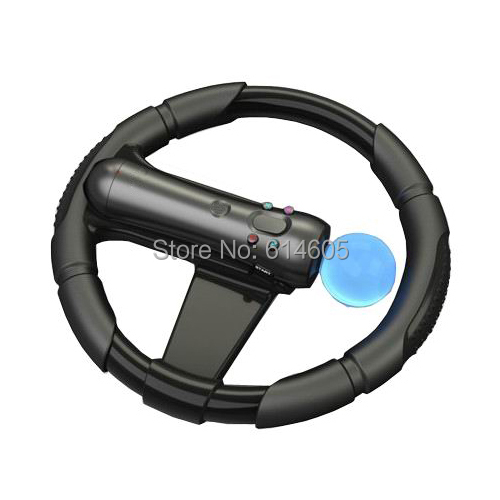 Steering Racing Wheel Joypad for Sony PS3 PS Move Motion Controller Racing Game ...