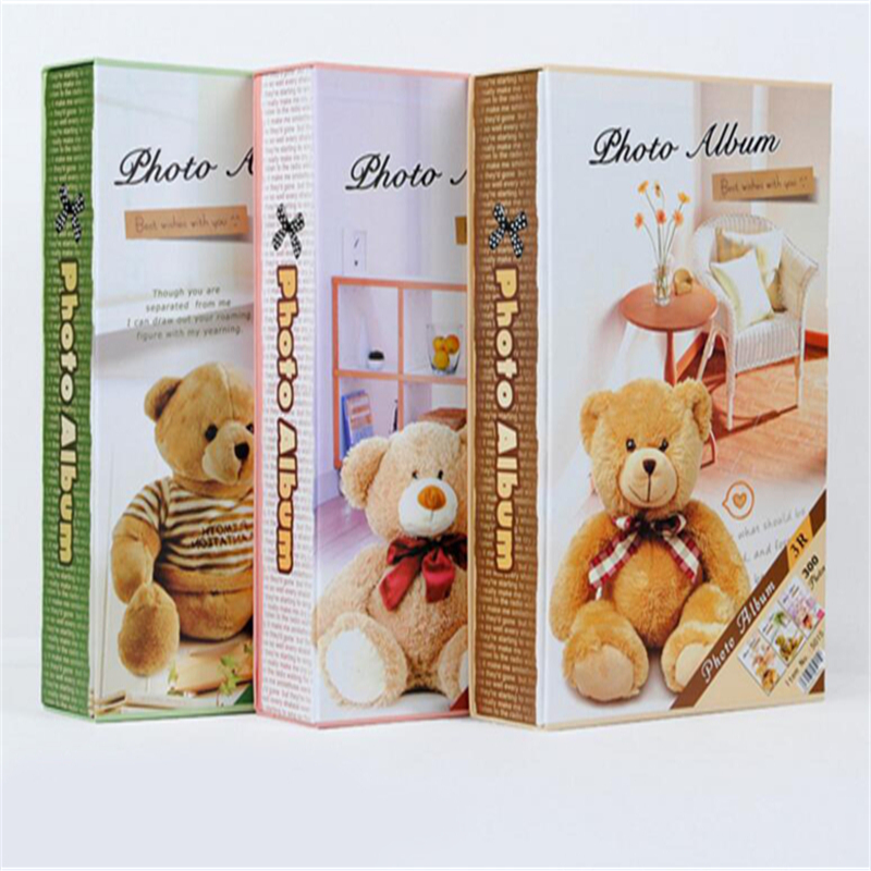 casegrace 5 inch cute baby album with 300 sheets interleaf