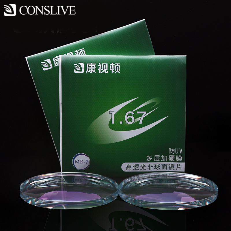 Prescription Lenses 1.56 1.61 1.67 1.74 Astigmatism Myopia Aspheric Clear Glasses Optical Lens Hyperopia For Reading Glass