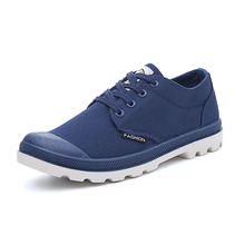 2017 Palladium Low to help canvas shoes men's shoes Korean fashion outdoor Comfortable and breathable 4 colors