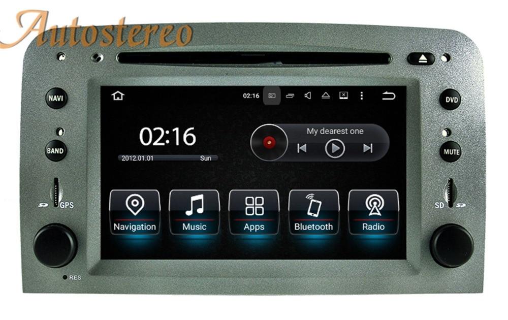 Lecteur dvd de voiture android autostéréo pour Alfa Romeo 147 navigation gps 2 din radio voiture stéréo unité de tête radio magnétophone pad