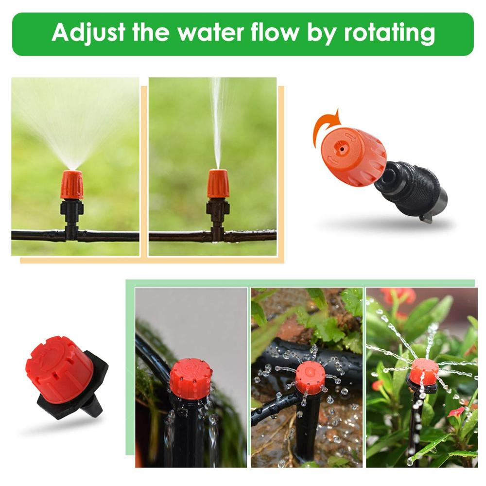30m Automatic Micro Drip Irrigation System Garden Irrigation Spray Self Watering Kits with Adjustable Dripper 30m Automatic Micro Drip Irrigation System Garden Irrigation Spray Self Watering Kits with Adjustable Dripper