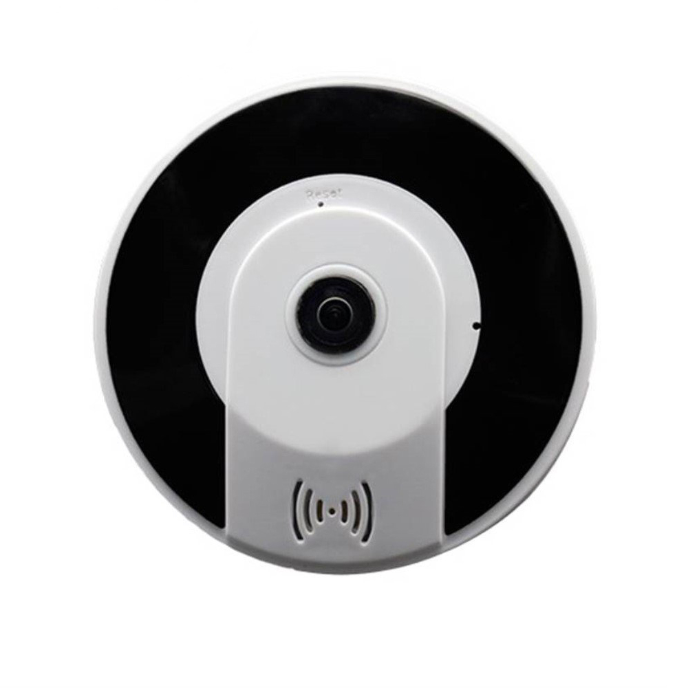 Kruiqi New Style 3D V380 Mini 360 Degree Panoramic Wireless Wifi IP Fisheye Camera Two Audio 960P HD wireless security camera in Surveillance Cameras from Security Protection