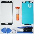 Outer glass for samsung galaxy S6 G9200 LCD Touch Screen Digitizer Front Glass Lens & LOCA UV glue & Tools & adhesive