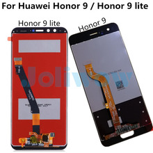 LCD Display For Huawei Honor 9 STF-L09 STF-AL10 Honor 9 Lite LCD Display+Touch Screen Digitizer Assembly for Honor 9 Youth LCD free shipping 9 inches lcd screen kr090pa2t 800 x480 50 pin short line the 16 9 display screen