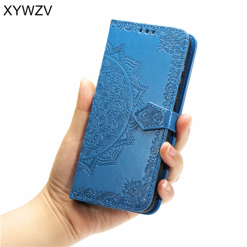 For Huawei Mate 20 Pro Case Rubber Flip Wallet Case For Huawei Mate 20 Pro Back Cover For Huawei Mate 20 Pro Card Holder Fundas in Flip Cases from Cellphones Telecommunications