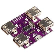 USB 2,0 концентратор 4-Порты и разъёмы USB высокое Скорость контроллер модуль для Arduino