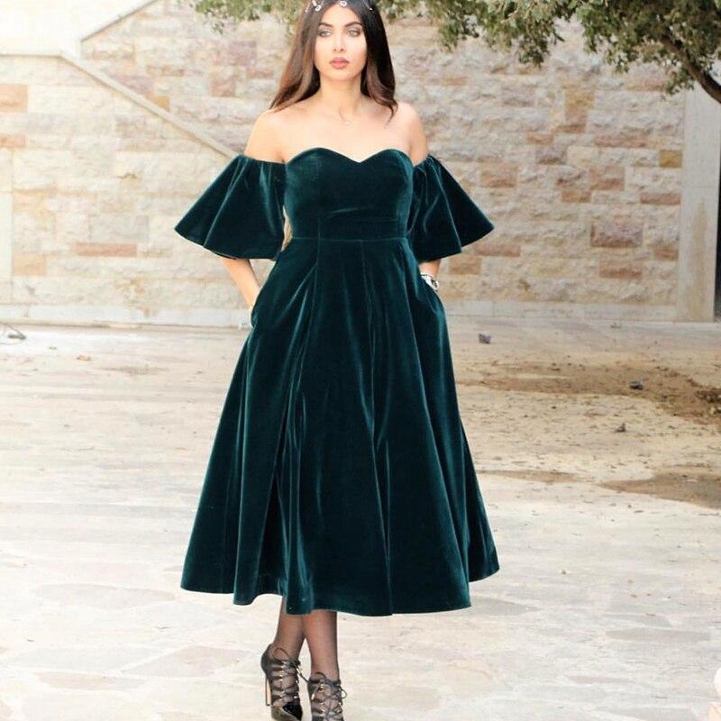 платье вечернее из бархата фото