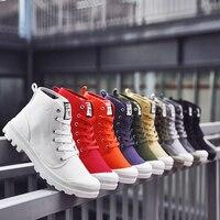 Men Casual Shoes Ankle Military Canvas Shoes Tactical Combat Lace Up Spring/Autumn Men shoes Big Size 38 47 HH 081