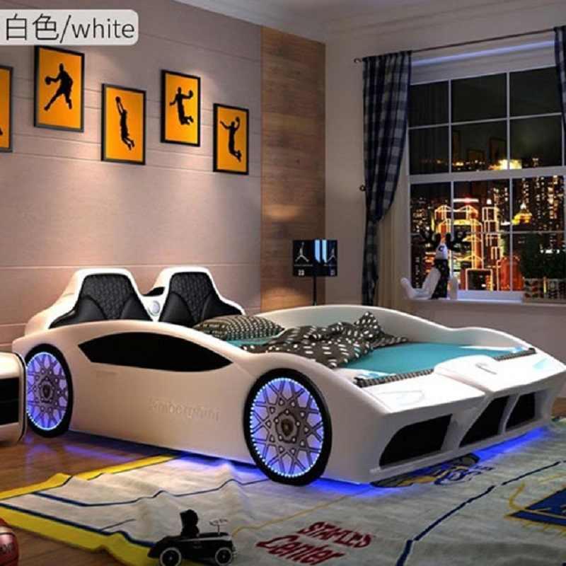 Kids Race Car Safe Bed For Bedroom Furniture For Boy And