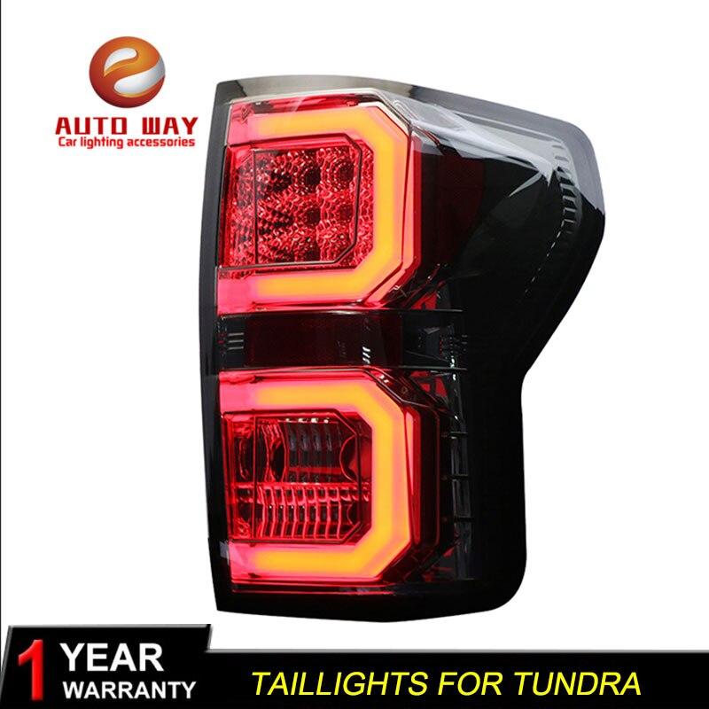Cas de Style de voiture pour Toyota Tundra 2007-2013 feux arrière Toyota Tundra Feux ARRIÈRE LED Feu arrière LED feu Arrière Lampe certa feu arrière