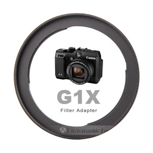 Image 1 - Aluminum FA DC58C Camera Lens Filter Adapter for Canon PowerShot G1X Camera Reinstall 58mm UV filter (Incompatible With G1X II)