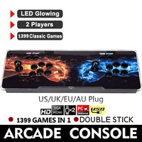 720P 1399 In 1 Classic Game Box 6S Battle Heros Arcade Game Console Double Stick For TV PC PS3 Monitor Support HDMI VGA USB