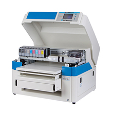 A2 size dtg inkjet digital textile flatbed printer for clothes