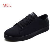 New Sneakers Men Casual Canvas Shoes Mens Breathable Flat Footwear Zapatillas Hombres