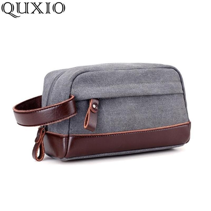Gerade Neue Business Leinwand Männer Tasche Handtasche Casual Mode Koreanische Version Der Handtasche ändern Key Zipper Hand Taschen Cz07