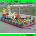 Funny playground inflatable slide fun city inflatable castle bouncer slide for kids toys