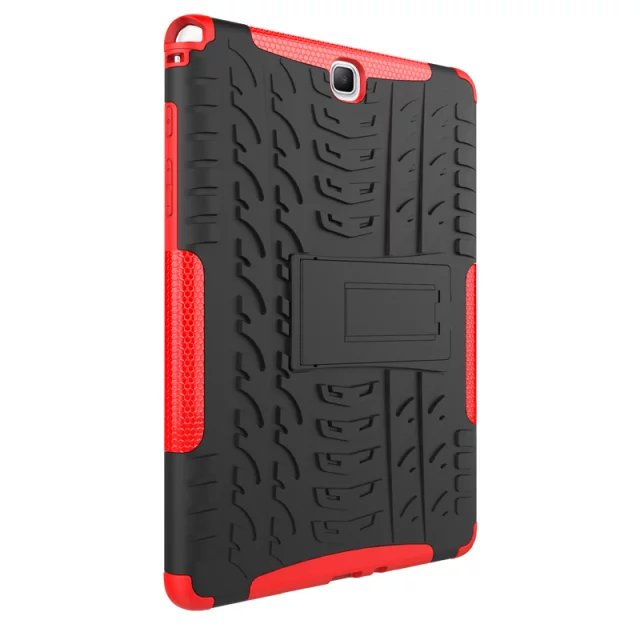 Hybrid Rugged Combo Heavy Duty Hard Cover Case For Samsung Galaxy Tab A 9.7 SM T555 T550 P550 P555 P555C Stand Tablet PC Case