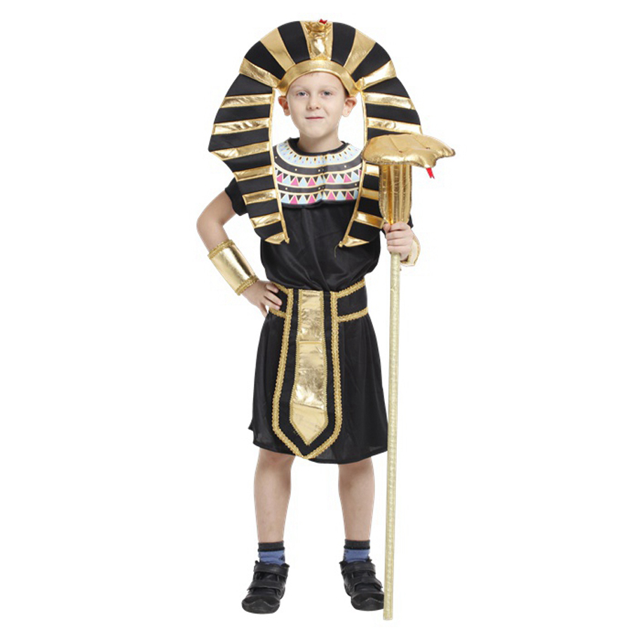 moonight egyptian pharaoh costumes new cosplay masquerade halloween childen kids costume egyptian pharaoh cleopatra royal - Egyptian Halloween Costumes For Kids