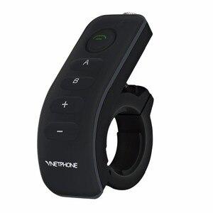 Image 5 - 2PCS 5Riders V8 Bluetooth Intercom Helmet NFC Motorcycle Handlebar Remote Control Communicator Helmet Headset with FM radio