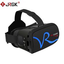 JRGK VR CASE Box Virtual Reality 3D VR Glasses Cardboard for Xiaomi Samsung S6 S5 S4 iPhone 5 6S plus 4.0-6 inches Smartphone