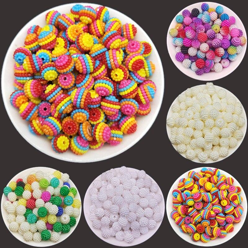 10 мм 50 шт Имитация жемчужной Бусины бусины в виде перца круглые свободные бусины для DIY аксессуары для ювелирных изделий высокого качества