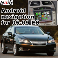 Android GPS Navigation Box Video Interface For 2005 2009 Lexus ES Etc With GVIF Cast Screen