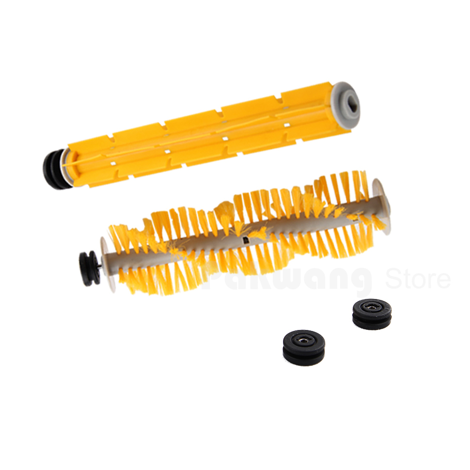 Original  A325 Robot Vacuum Cleaner parts ,Rubber brush 1 pc and Hair brush 1 pc with Rubber Sleeve (included Bearing) optimal and efficient motion planning of redundant robot manipulators