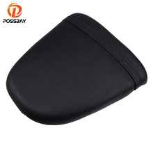 POSSBAY Motorcycle Seat Cushion Rear Black Pillion Passenger Fit for Suzuki GSXR600 750 1996 1997 1998 1999