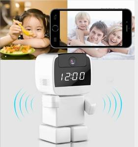 IP Camera Wireless Robot Wi-fi Clock Camera Network robot