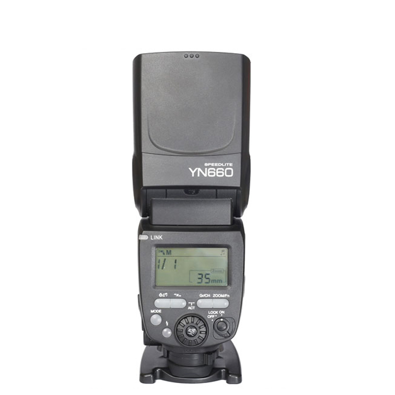 YongNuo YN660 Speedlite GN66 2.4G Wireless Trigger Master Slave Flash Light for Canon EOS Nikon Sony Pentax Olympus Camera Flash цена