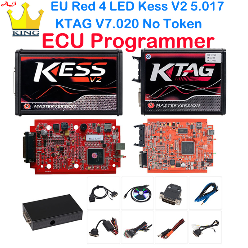 Back To Search Resultsautomobiles & Motorcycles Buy Cheap Kess V2 V5.017 Ktag V7.020 Manager Tuning Kit No Token K-tag 7.020 Cu Chip Tuning Tool With 22pcs Bdm Adapters Fit For Ktag/kess Crazy Price