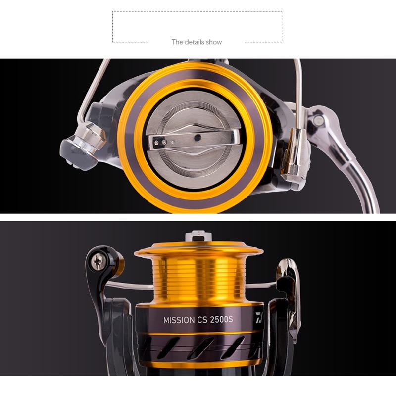 DAIWA MISSION CS S 100% Original Spinnrolle 2000S 2500S 3000S 4000S 3 - Angeln - Foto 2